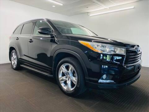 2015 Toyota Highlander for sale at Champagne Motor Car Company in Willimantic CT