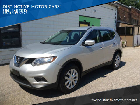 2014 Nissan Rogue for sale at DISTINCTIVE MOTOR CARS UNLIMITED in Johnston RI