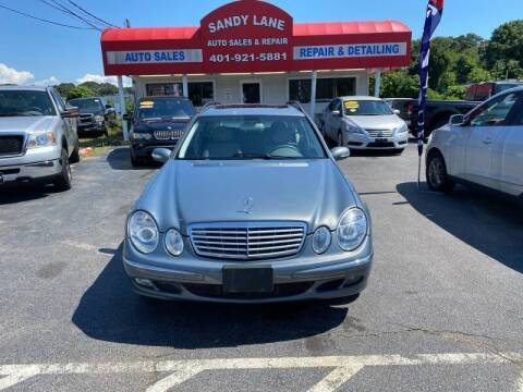 2005 Mercedes-Benz E-Class for sale at Sandy Lane Auto Sales and Repair in Warwick RI