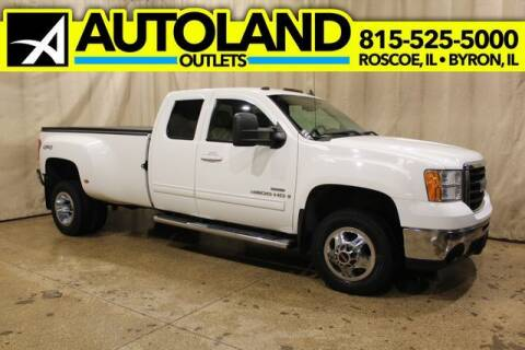 2008 GMC Sierra 3500HD for sale at AutoLand Outlets Inc in Roscoe IL