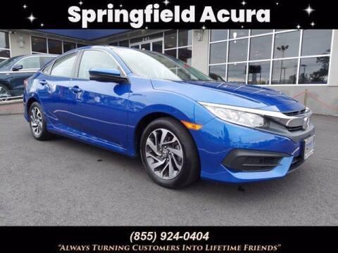 2018 Honda Civic for sale at SPRINGFIELD ACURA in Springfield NJ