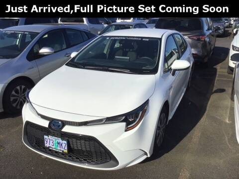 2021 Toyota Corolla Hybrid for sale at Royal Moore Custom Finance in Hillsboro OR