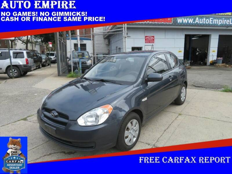 2011 Hyundai Accent for sale at Auto Empire in Brooklyn NY