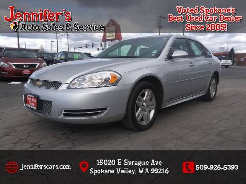 2014 Chevrolet Impala Limited for sale at Jennifer's Auto Sales in Spokane Valley WA