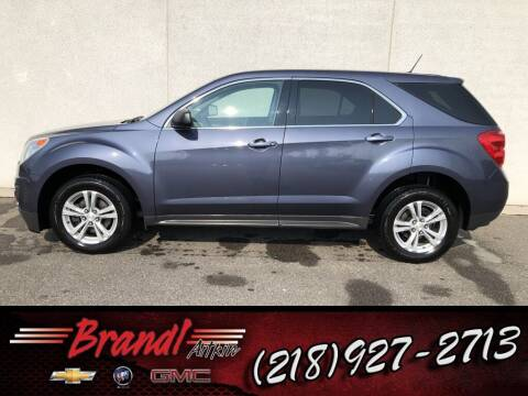 2014 Chevrolet Equinox for sale at Brandl GM in Aitkin MN