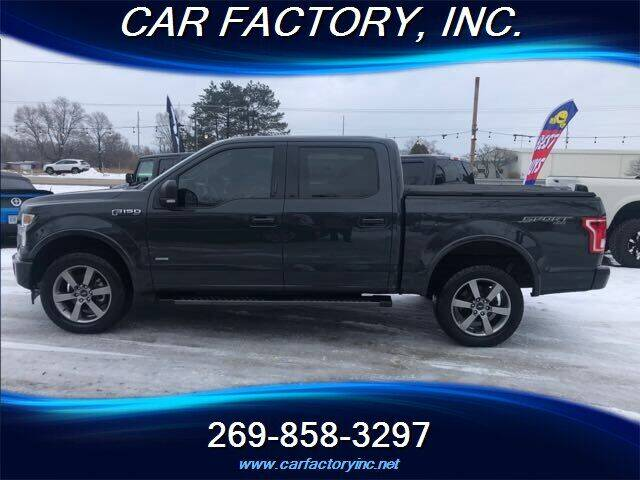 2017 Ford F-150 for sale at Car Factory Inc. in Three Rivers MI