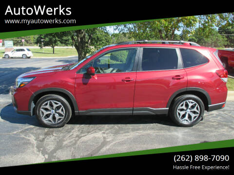 2020 Subaru Forester for sale at AutoWerks in Sturtevant WI