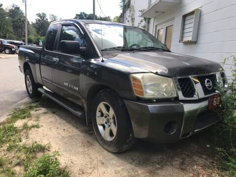 2006 Nissan Titan for sale at Popular Imports Auto Sales in Gainesville FL