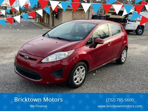 2013 Ford Fiesta for sale at Bricktown Motors in Brick NJ