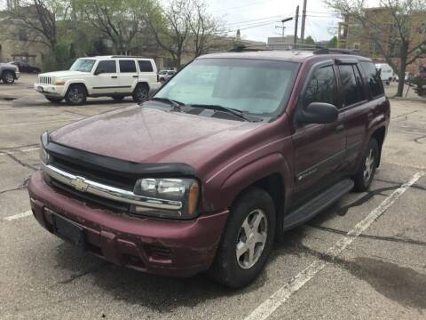 2004 Chevrolet TrailBlazer for sale at Steve's Auto Sales in Madison WI