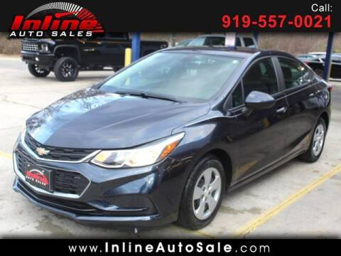 2016 Chevrolet Cruze for sale at Inline Auto Sales in Fuquay Varina NC