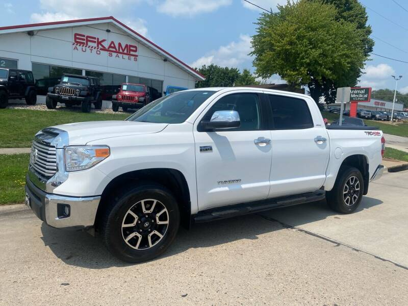 2016 Toyota Tundra for sale at Efkamp Auto Sales LLC in Des Moines IA