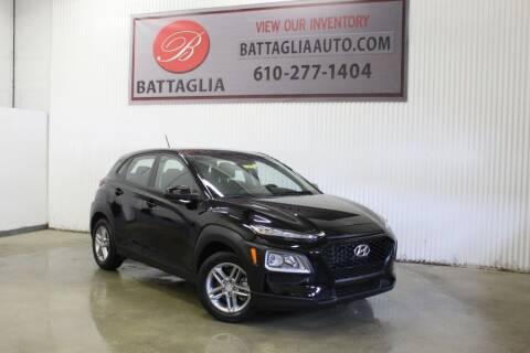 2018 Hyundai Kona for sale at Battaglia Auto Sales in Plymouth Meeting PA