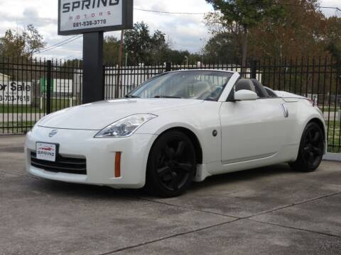 2008 Nissan 350Z for sale at Spring Motors in Spring TX