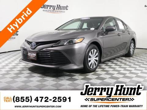 2018 Toyota Camry Hybrid for sale at Jerry Hunt Supercenter in Lexington NC