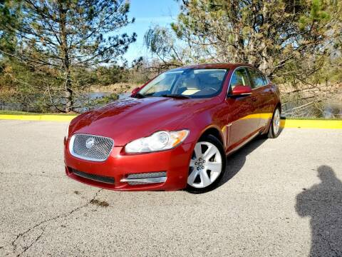 2010 Jaguar XF for sale at Excalibur Auto Sales in Palatine IL
