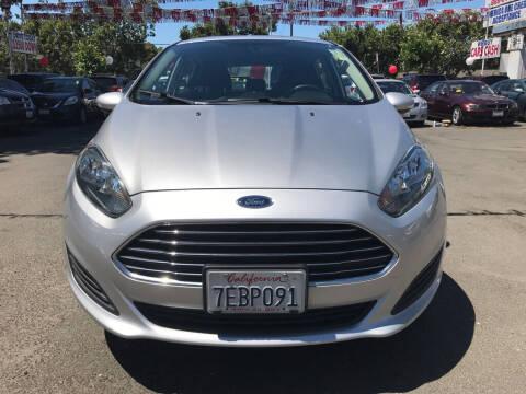 2014 Ford Fiesta for sale at EXPRESS CREDIT MOTORS in San Jose CA