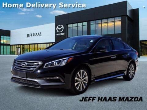 2016 Hyundai Sonata for sale at JEFF HAAS MAZDA in Houston TX