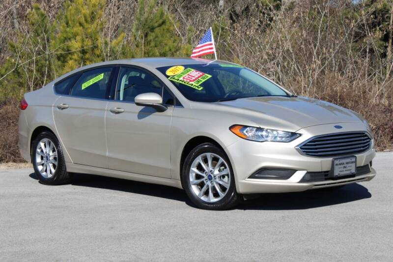 2017 Ford Fusion for sale at McMinn Motors Inc in Athens TN