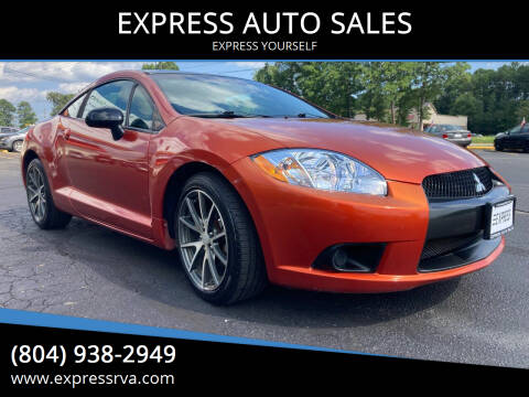 2012 Mitsubishi Eclipse for sale at EXPRESS AUTO SALES in Midlothian VA