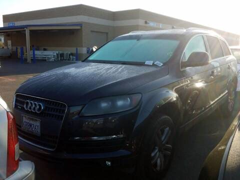 2008 Audi Q7 for sale at MCHENRY AUTO SALES in Modesto CA
