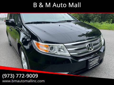 2013 Honda Odyssey for sale at B & M Auto Mall in Clifton NJ