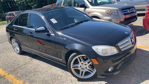 2008 Mercedes-Benz C-Class for sale at Trocci's Auto Sales in West Pittsburg PA