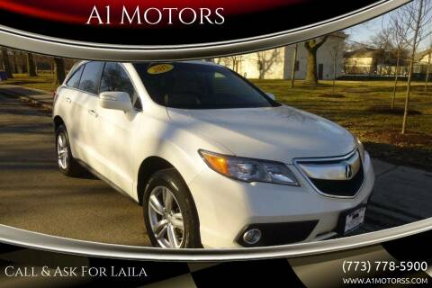 2015 Acura RDX for sale at A1 Motors Inc in Chicago IL