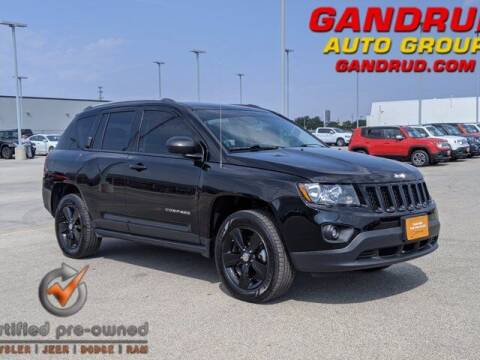 2016 Jeep Compass for sale at Gandrud Dodge in Green Bay WI