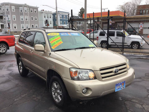 2007 Toyota Highlander for sale at Adams Street Motor Company LLC in Dorchester MA