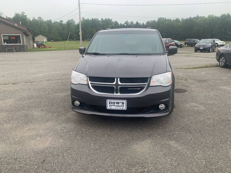 2017 Dodge Grand Caravan for sale at DOW'S AUTO SALES in Palmyra ME