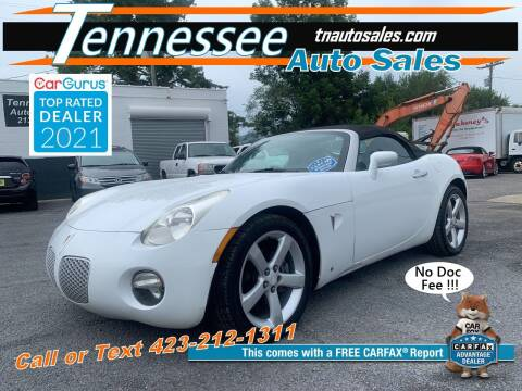2006 Pontiac Solstice for sale at Tennessee Auto Sales in Elizabethton TN