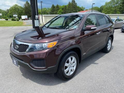 2012 Kia Sorento for sale at Alexandria Auto Mart LLC in Alexandria PA