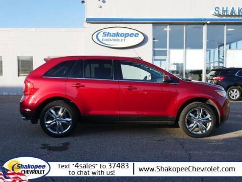 2013 Ford Edge for sale at SHAKOPEE CHEVROLET in Shakopee MN