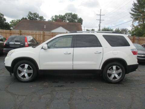 2010 GMC Acadia for sale at Home Street Auto Sales in Mishawaka IN