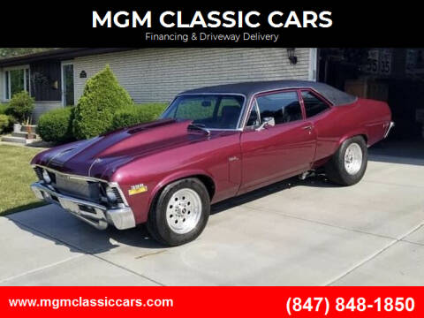 1970 Chevrolet Nova for sale at MGM CLASSIC CARS-New Arrivals in Addison IL