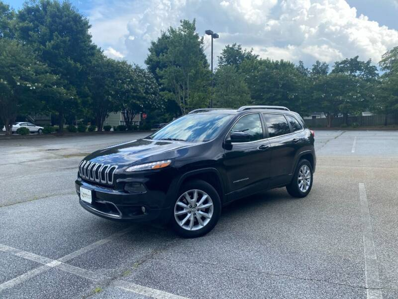 2014 Jeep Cherokee for sale at Uniworld Auto Sales LLC. in Greensboro NC