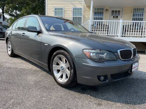 2007 BMW 7 Series for sale at Alpina Imports in Essex MD