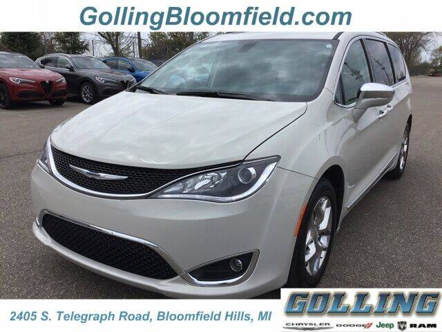 2019 Chrysler Pacifica for sale in Waterford, MI