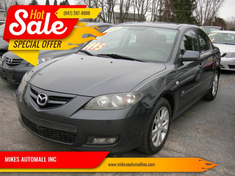 2009 Mazda MAZDA3 for sale at MIKES AUTOMALL INC in Ingleside IL