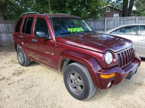 2002 Jeep Liberty for sale at Northwoods Auto & Truck Sales in Machesney Park IL