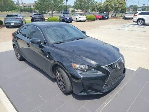 2015 Lexus IS 250 for sale at JOE BULLARD USED CARS in Mobile AL