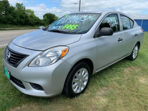 2014 Nissan Versa for sale at FREDDY'S BIG LOT in Delaware OH