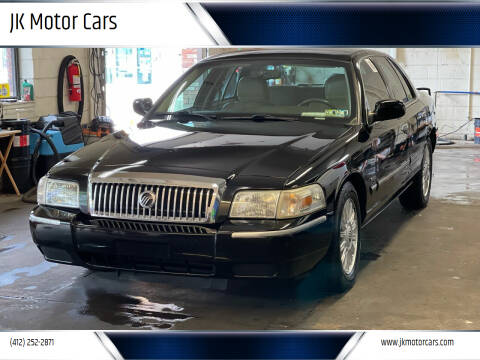 2010 Mercury Grand Marquis for sale at JK Motor Cars in Pittsburgh PA