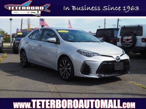 2019 Toyota Corolla for sale at TETERBORO CHRYSLER JEEP in Little Ferry NJ