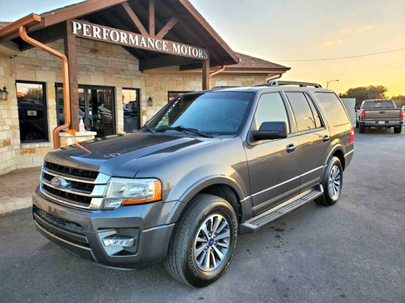 2015 Ford Expedition for sale at Performance Motors Killeen Second Chance in Killeen TX