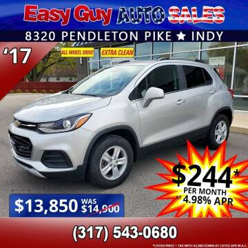 2017 Chevrolet Trax for sale at Easy Guy Auto Sales in Indianapolis IN