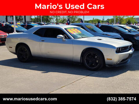 2012 Dodge Challenger for sale at Mario's Used Cars in Houston TX
