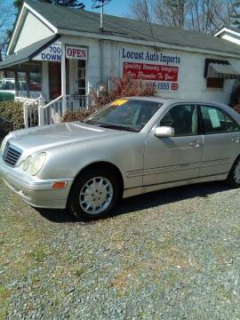 2000 Mercedes-Benz E-Class for sale at Locust Auto Imports in Locust NC