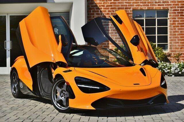 2021 McLaren 720S for sale at O'Gara Coach McLaren Beverly Hills in Beverly Hills CA